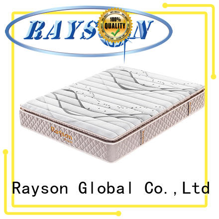 Rayson chic design pocket spring mattress double knitted fabric high density