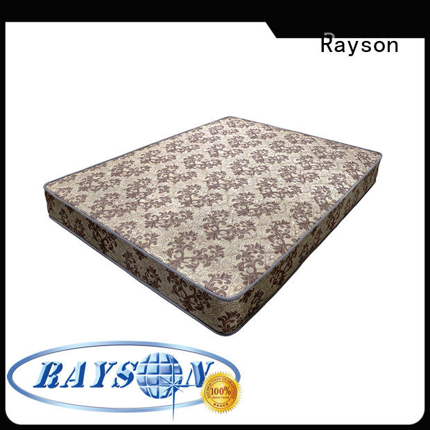 Rayson wholesale best coil mattress vacuum for star hotel