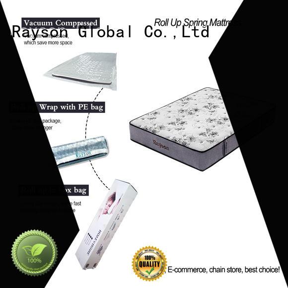 Rayson king size rolled memory foam mattress tight