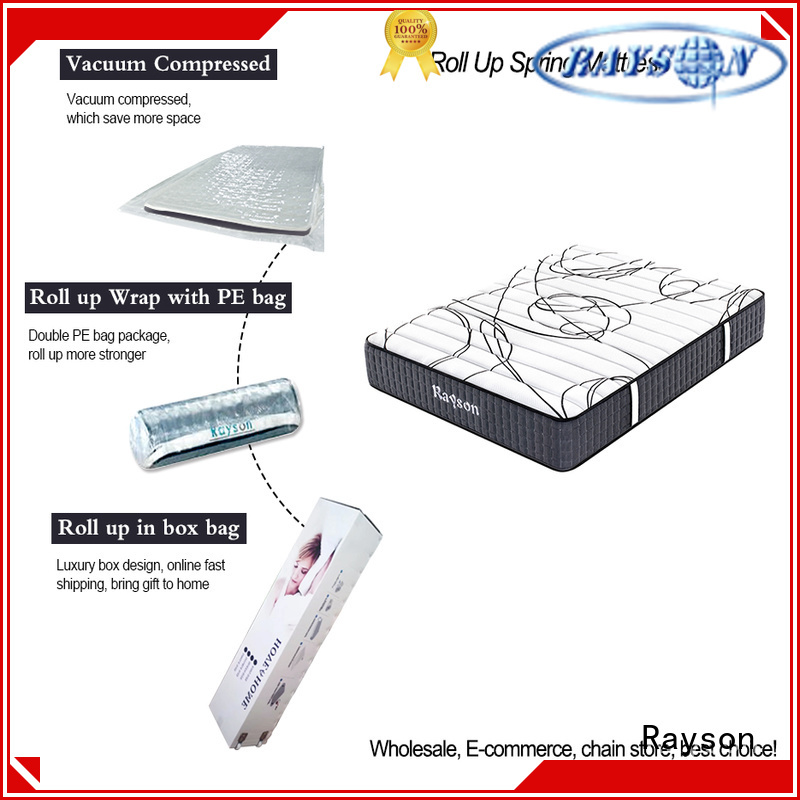 coil two rolled foam spring mattress sides Synwin Brand