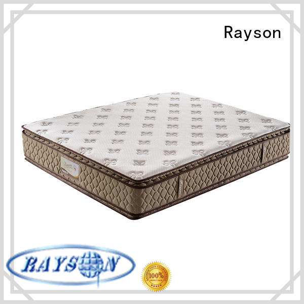 Rayson luxury mattress in 5 star hotels customized bulk order