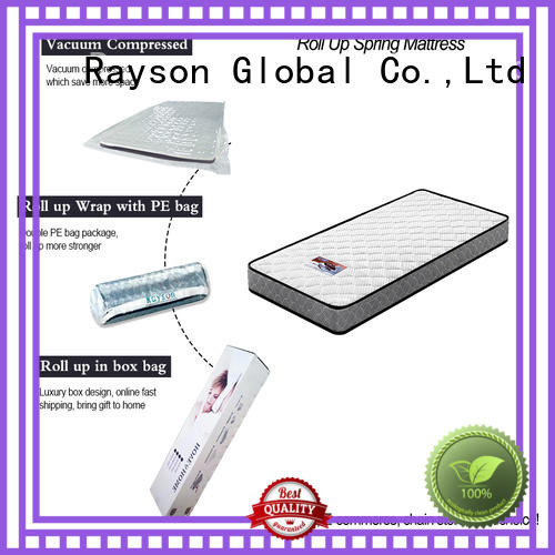 spring bonnell OEM rolled mattress Rayson