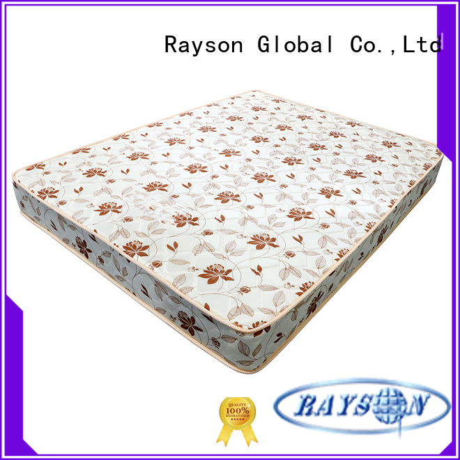 double side spring and memory foam mattress continuous compressed for star hotel