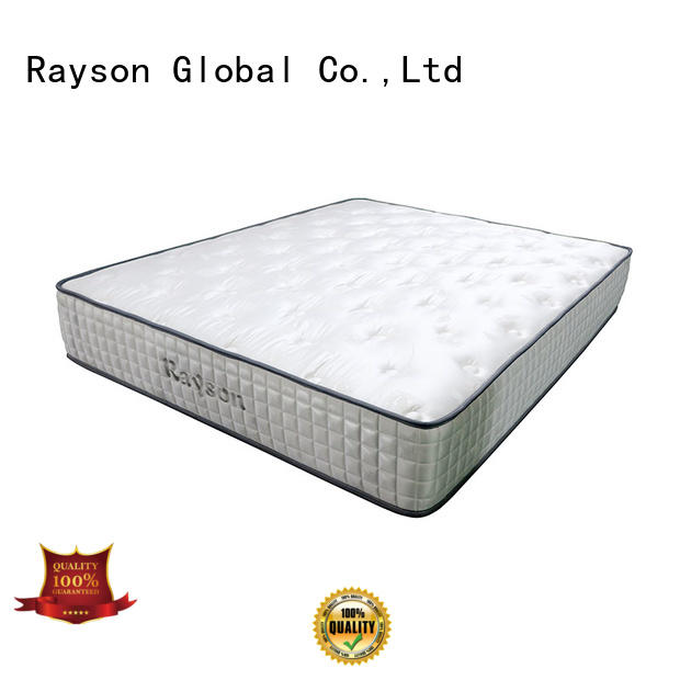 Rayson tight top pocket memory mattress knitted fabric light-weight
