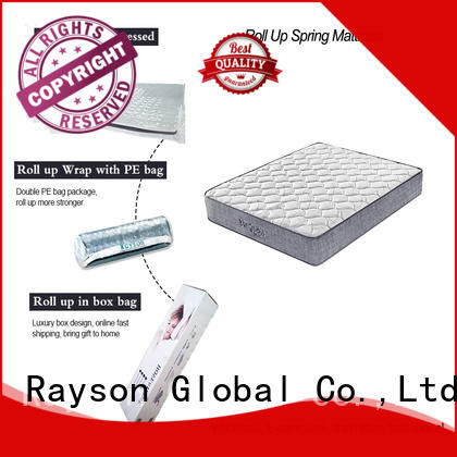 latex rolled foam spring mattress sale Rayson company latex