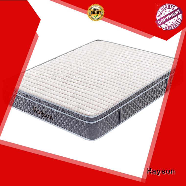 latex euro sides rolled foam spring mattress tight Rayson Brand