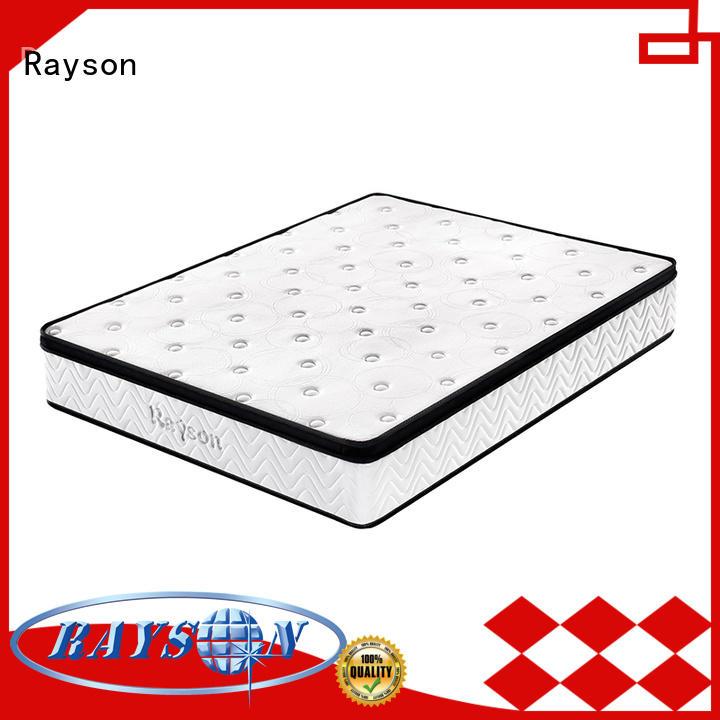 customized hotel pocket sprung memory foam mattress Rayson Brand
