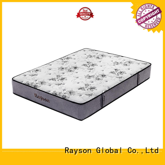 coil pocket pocket sprung memory foam mattress Rayson manufacture