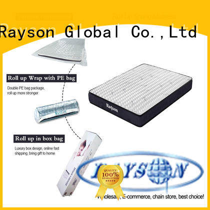 Rayson hot-sale roll packed mattress best sleep experience with pillow