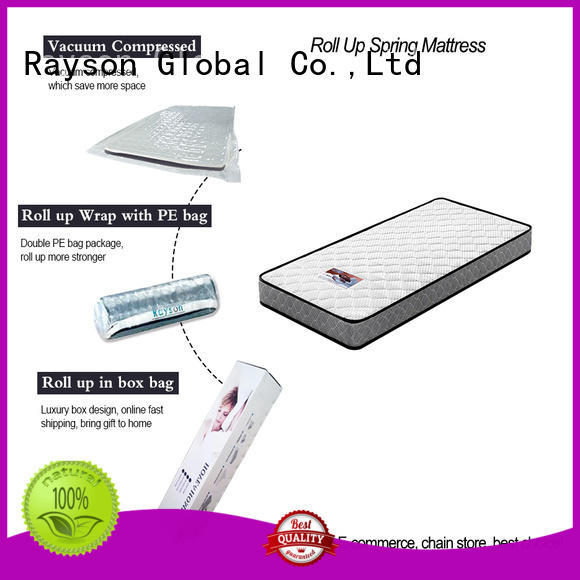 professional king size roll up mattress at discount after-sales supported Rayson