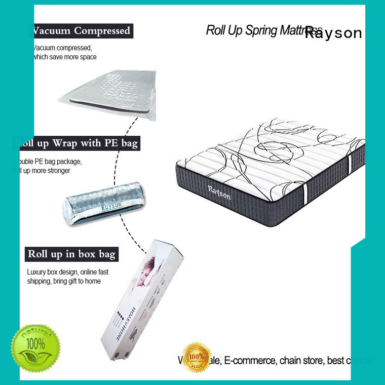 25cm height roll up mattress full size tight for wholesale Rayson