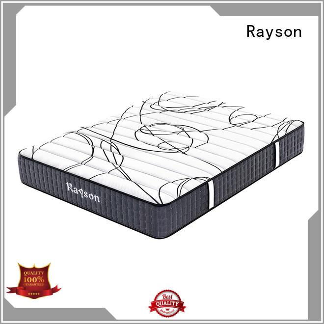 Rayson high-quality pocket sprung memory foam mattress knitted fabric high density