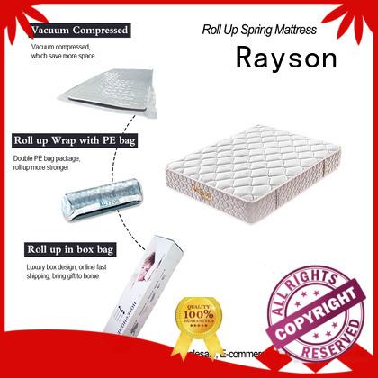 coil box rolled foam mattress latex tight