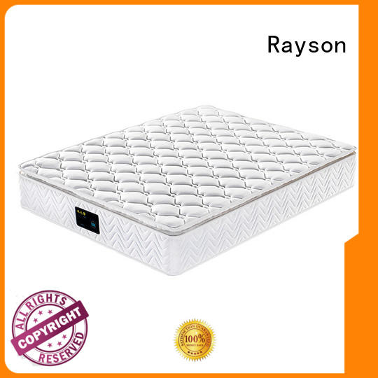 Plain design pocket spring super soft foam pillow top mattress