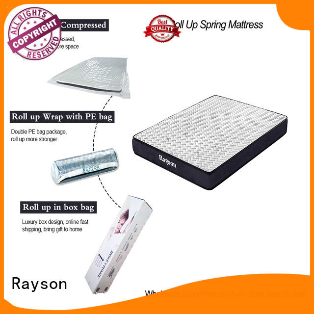pillow roll roll up double mattress Rayson Brand