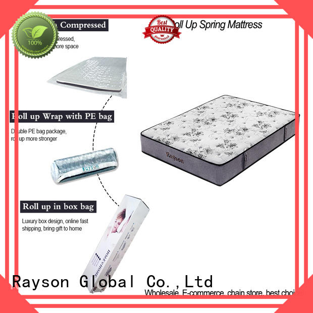 Synwin comfortable mattress rolled up in a box vacuum compressed for wholesale