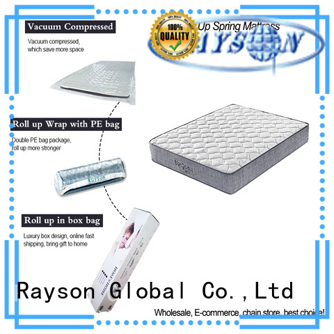 Synwin full size rolled memory foam mattress top for customization