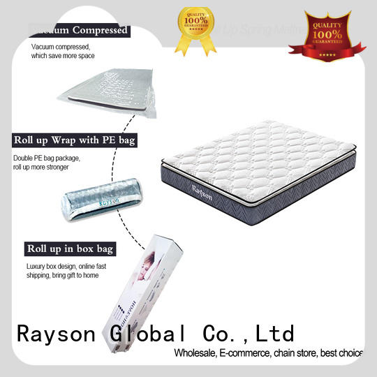 luxury roll packed mattress full size reliable with pillow