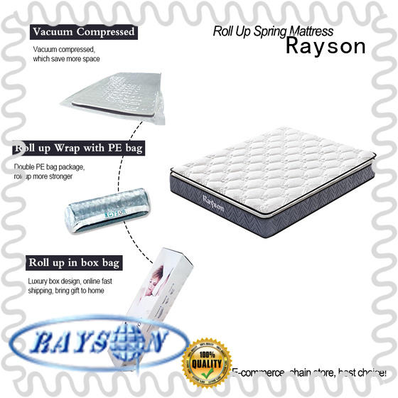 Rayson comfortable best roll up mattress with pillow