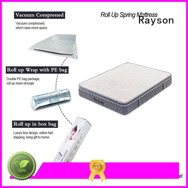 vacuum pocket rolled foam spring mattress sides Synwin company
