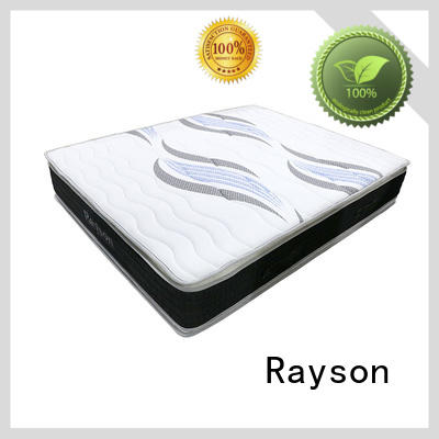 Rayson tight top pocket spring mattress double low-price light-weight