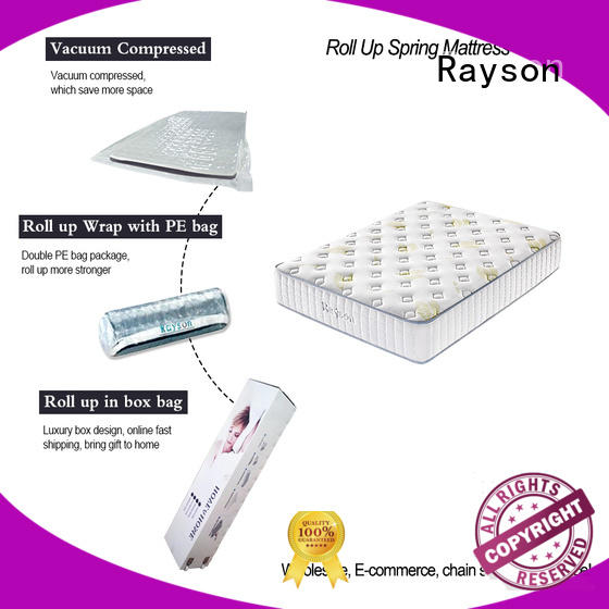 Synwin euro rolled single mattress rolled