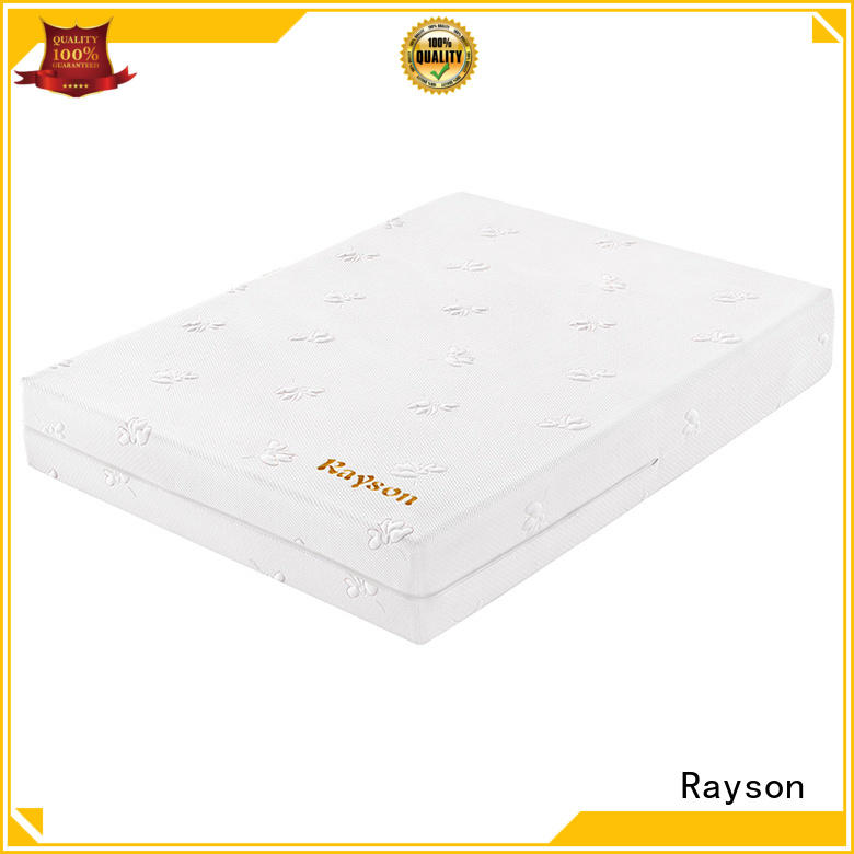 memory foam mattress double 9inch roll box Warranty Rayson