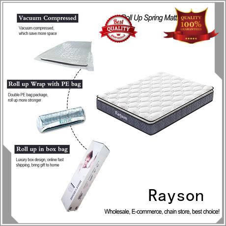 pillow roll up double mattress size bonnell Synwin Brand
