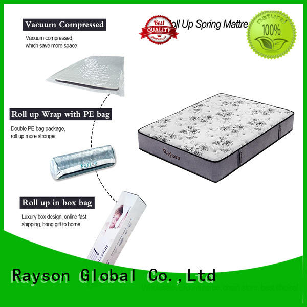 spring latex two rolled foam spring mattress vacuum Synwin Brand