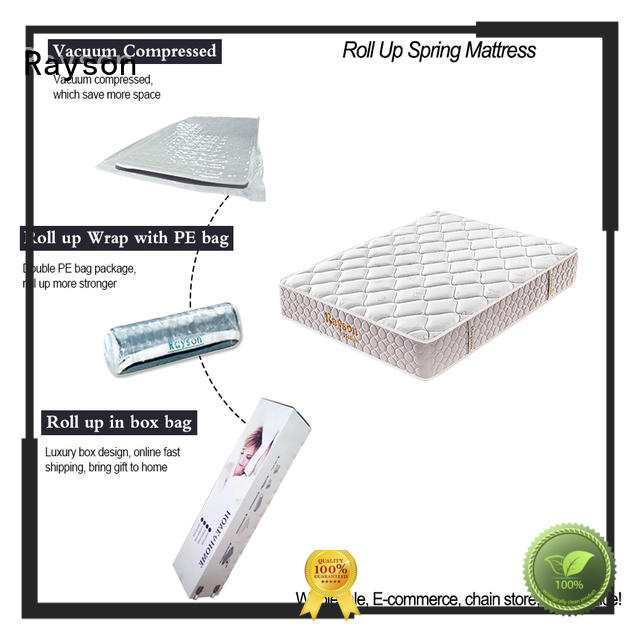 Rayson euro vacuum packed memory foam mattress 25cm height at discount