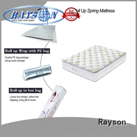 two sides roll up mattress full size top for wholesale Synwin