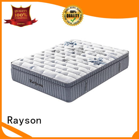 luxury firm pocket sprung mattress chic design light-weight Rayson