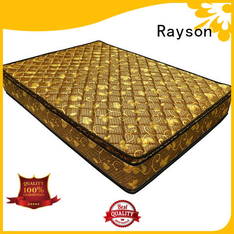 Rayson continuous platform bed mattress compressed for star hotel