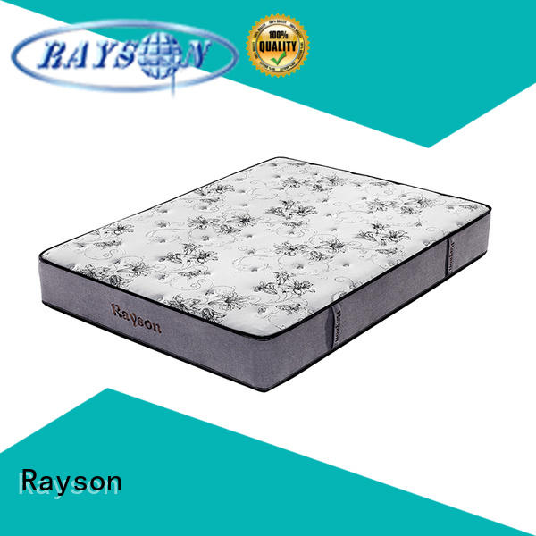 Rayson king size single pocket sprung mattress low-price at discount