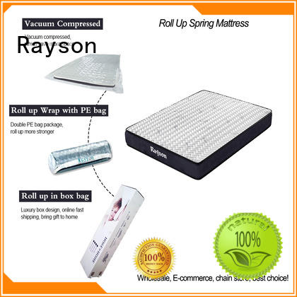 roll up double mattress mattress bonnell roll up mattress Rayson Brand