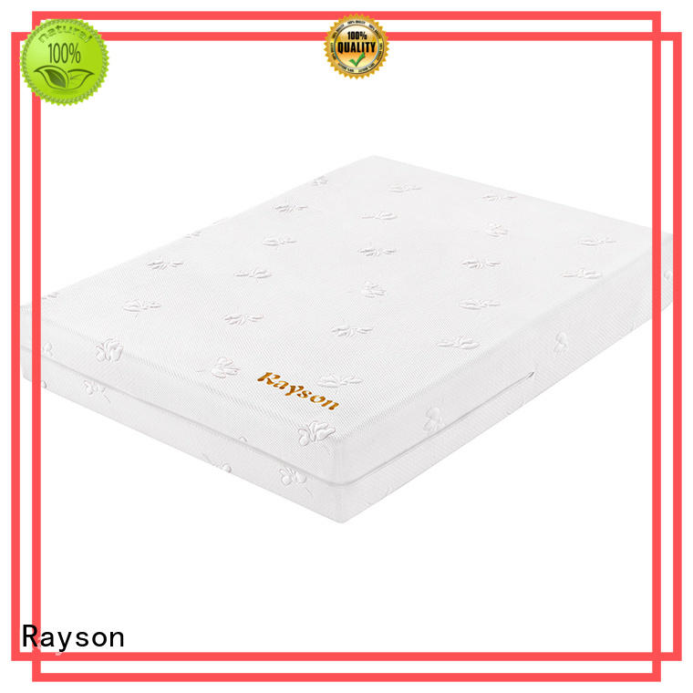 Rayson hotel soft memory foam mattress free delivery for sound sleep