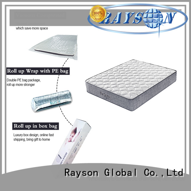 two sides top coil rolled foam spring mattress Synwin
